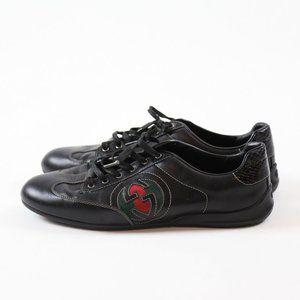 Gucci Logo Black Sneakers
